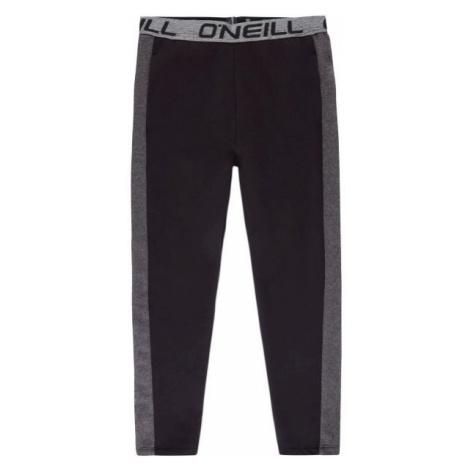 O'Neill LG ELASTICATED LOGO PANTS čierna - Dievčenské tepláky