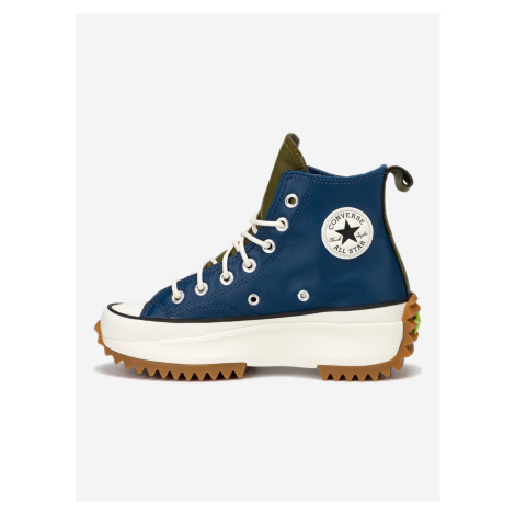 Run Star Hike Hi Tenisky Converse Modrá