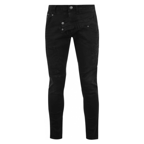 883 Police Engineered Jeans Black