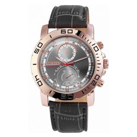 Pánske hodinky Aerostar tmavo sivé Gold
