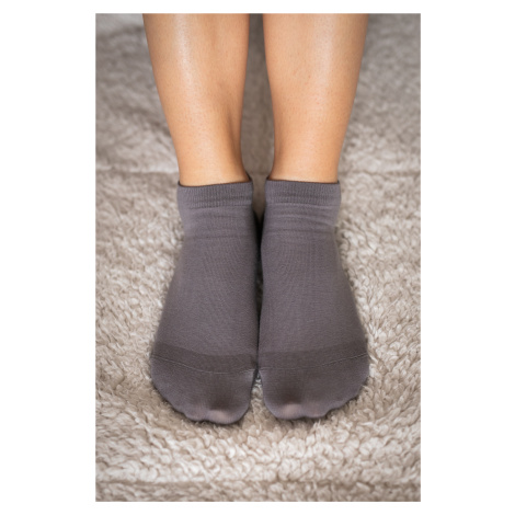 Barefoot ponožky krátke - sivé 35-38