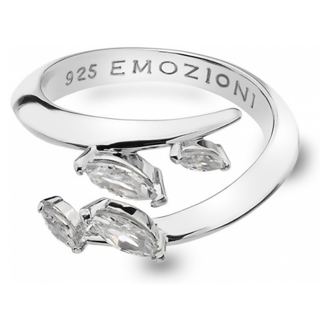 Hot Diamonds Strieborný prsteň Hot Diamonds Emozioni sa zirkónmi ER023 mm