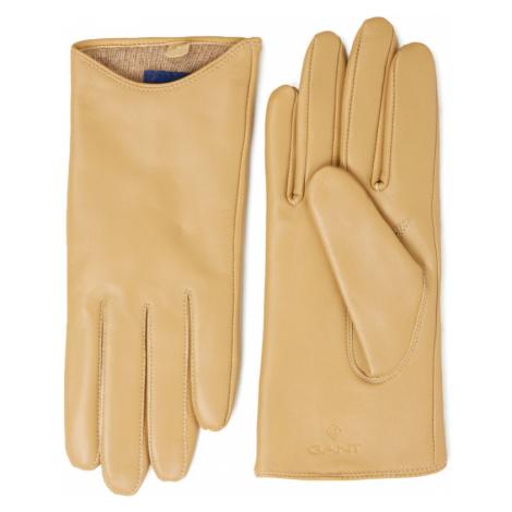 Hnedé dámske módne rukavice