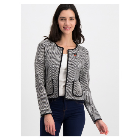 Blutsgeschwister Coco Grey Patterned Cardigan