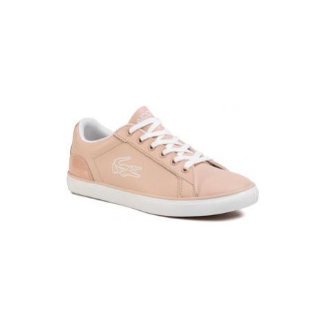 Lacoste Sneakersy Lerond 120 2 Cuj 7-39CUJ00157F8 Ružová