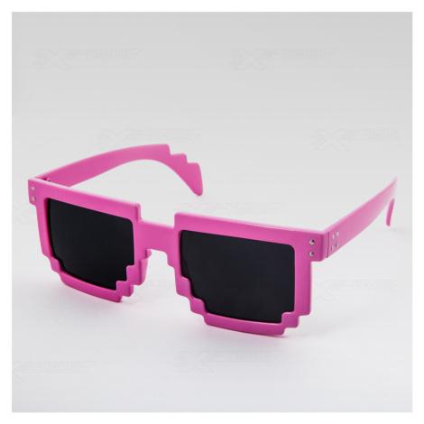 Slnečné okuliare Robot ružové