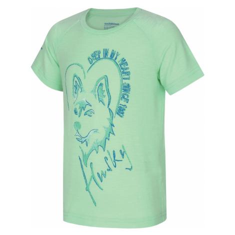 Husky Zingl Kids sv. mätová, Detské tričko