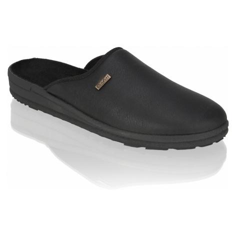 Natura Domáca obuv čierna
