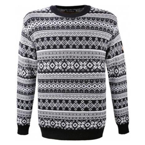 Kama MERINO SVETER 4057 čierna - Pletený sveter