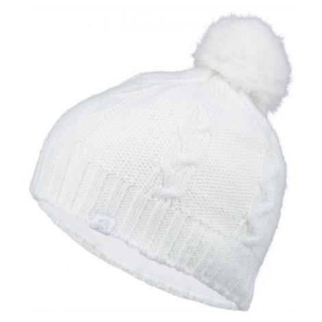 Lotto CORSOLA biela - Dievčenská pletená čiapka