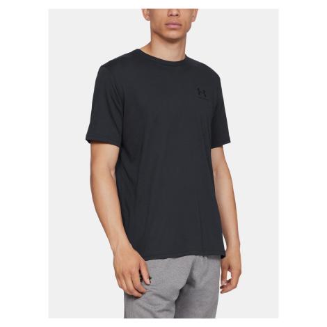 Čierne pánske tričko Under Armour