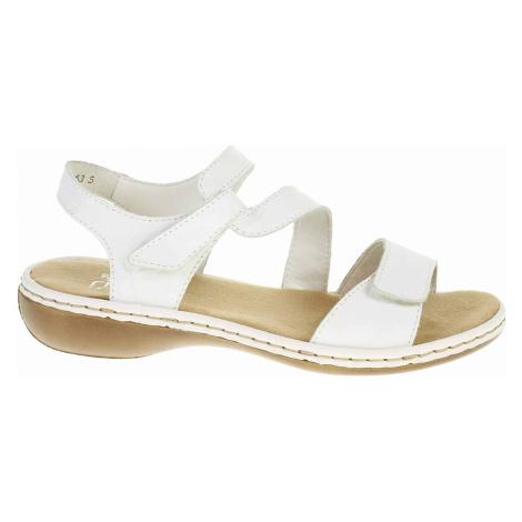 Dámské sandály Rieker 659C7-80 weiss 659C7-80