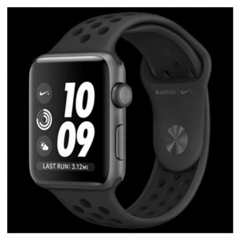 Apple Watch Series Nike+ 42mm vesmírně šedý hliník s antracitovým/černým Nike sportovním řemínke