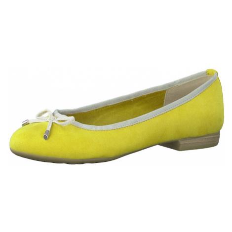 MARCO TOZZI Baleríny  žltá