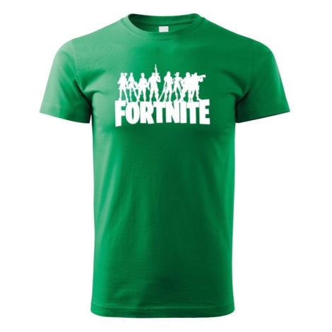 Detské tričko s potlačou hry Fortnite - ideálne pre malých hráčov