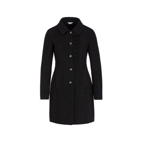 Liu Jo Prechodný kabát W69005 T4076 Čierna Regular Fit