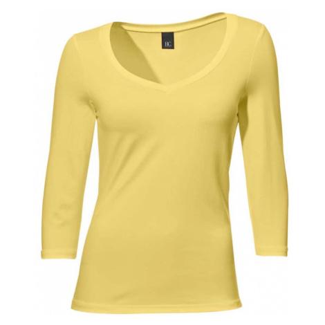 Ashley Brooke by heine Tričko  žltá