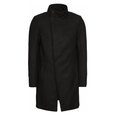 Only & Sons Prechodný kabát 'onsOSCAR WOOL COAT'  čierna