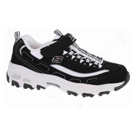 Skechers D´ Lites - Crowd Appeal black-white 80588L BKW