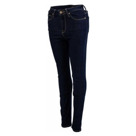 Lee SKYLER SOLID BLUE tmavo modrá - Dámske skinny džínsy