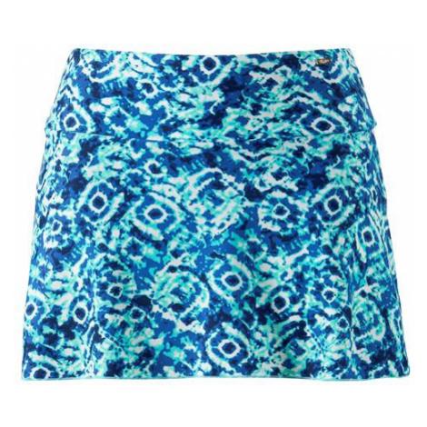 Plavková sukňa s modrým vzorom s nohavičkami