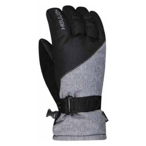 Hannah ROWE čierna - Dámske lyžiarske rukavice