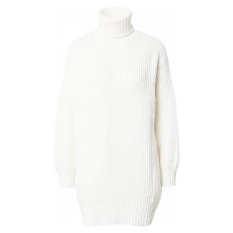 MINKPINK Pletené šaty  biela