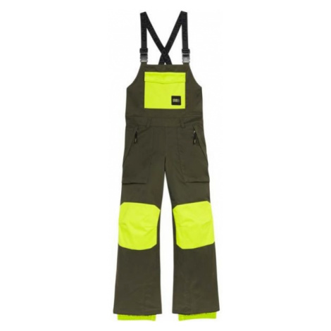 O'Neill PB BIB PANTS tmavo zelená - Chlapčenské snowboardové/lyžiarske nohavice