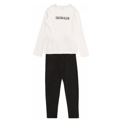 Calvin Klein Underwear Pyžamo  biela / čierna
