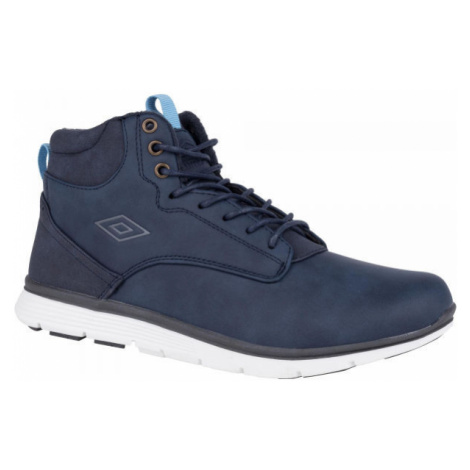 Umbro JAGGY LACE modrá - Chlapčenská voľnočasová obuv