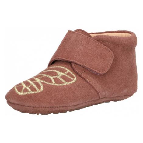BISGAARD Papuče  staroružová