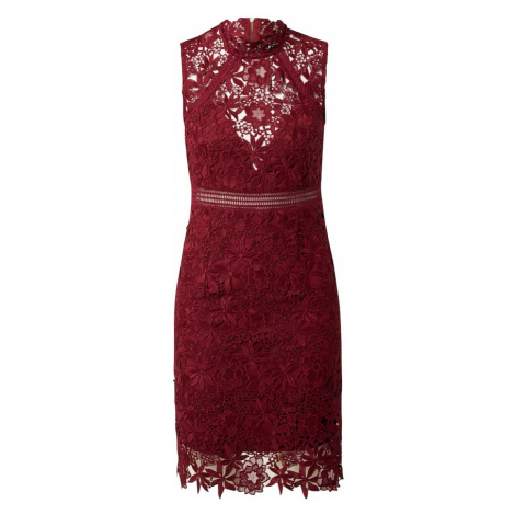 Bardot Šaty 'Eleni'  vínovo červená