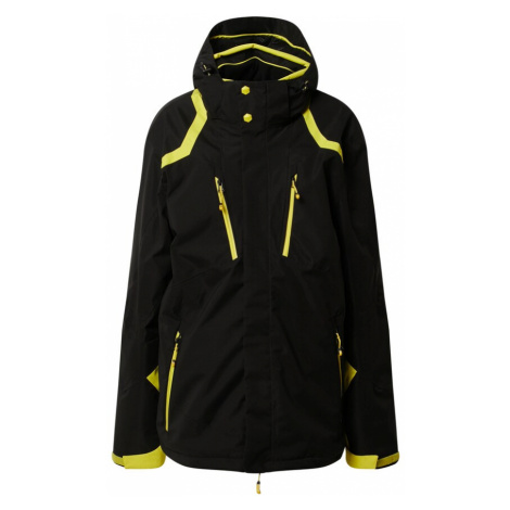 KILLTEC Športová bunda 'Savognin'  žltá / čierna