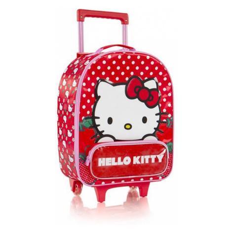 Heys Detský cestovný kufor Soft Hello Kitty Red 21 l