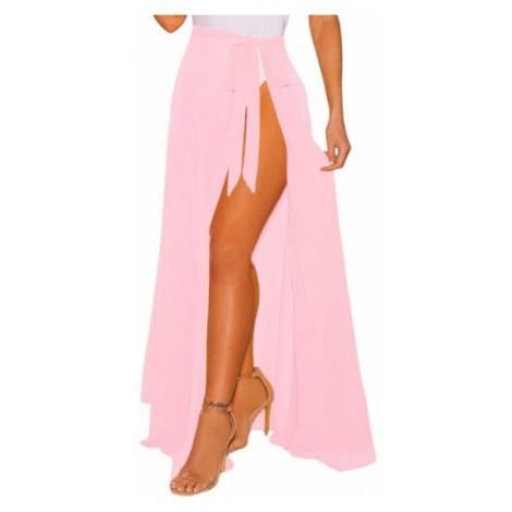 Plážová maxi sukňa Paislee - ružová