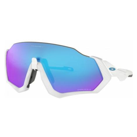 Oakley FLIGHT JACKET biela - Športové slnečné okuliare