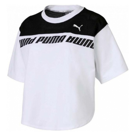 Puma MODERN SPORTS SWEAT TEE biela - Dámske tričko