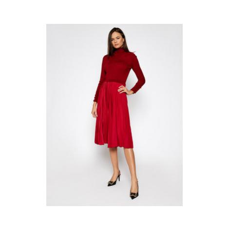 Sportmax Code Úpletové šaty Gastone 73260205 Červená Regular Fit