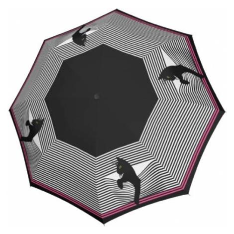 Doppler Dámsky skladací dáždnik Fiber Magic Special Cozy Cat 746165CO