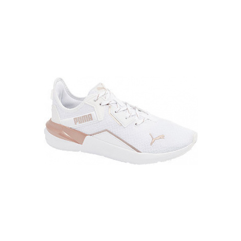 Biele tenisky Puma Platinum Metallic WNS
