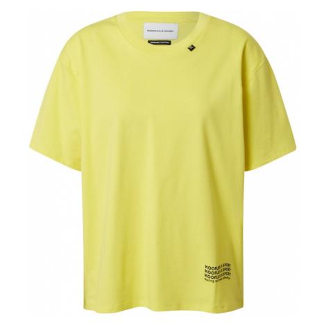 THE KOOPLES SPORT Tričko  žltá / čierna