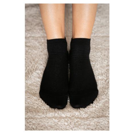 Barefoot ponožky krátke - čierne 35-38