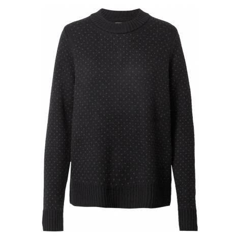 Icebreaker Športový sveter  čierna / sivá Icebreaker Merino