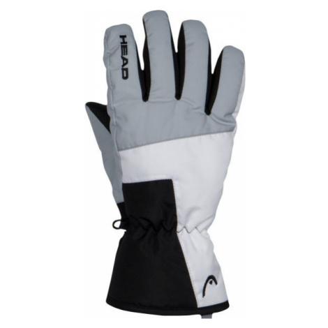 Head VAL čierna - Detské lyžiarske rukavice