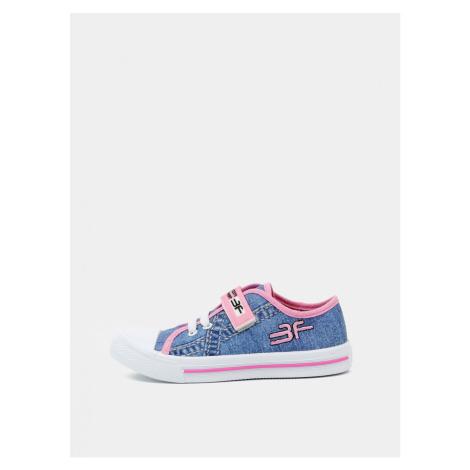 Blue Girl Sneakers 3F
