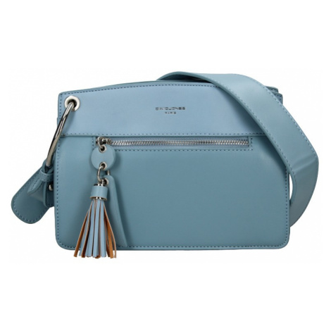 Dámska kabelka David Jones Grace - modrá