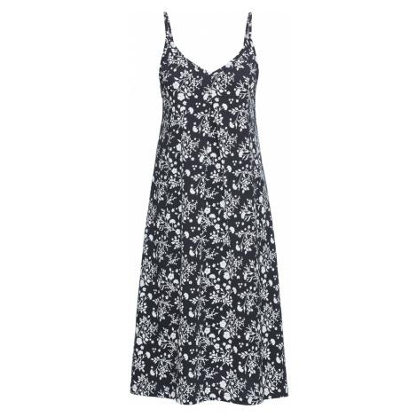 Úpletové šaty, potlačené bonprix