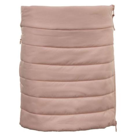 ALPINE PRO ODESSO ružová - Detská zateplená sukňa