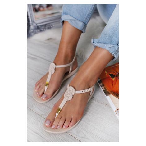 Svetlobéžové sandále Class Glam II Ipanema