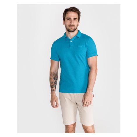 SuperDry Polo tričko Modrá